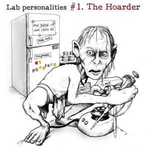 Gollum in a lab