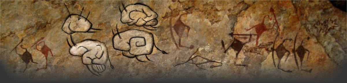 cave painting of neurons